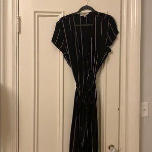 Fun and flattering wrap dress.